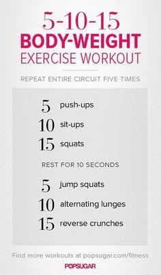 5-10-15 Workout: