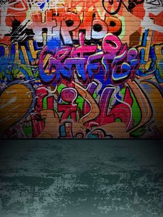 Kate Teenager Graffiti Wall Grey Brick Floor Backdrop Kate Teenager Photography Backdrops,Teenager Graffiti Wall Grey Brick Floor Backdrop For Photographers,No Winkle Seamless Collapsible Photo Studio Background Photo Booth Background, Studio Background Images, Light Background Images, Background For Photography, Photography Backdrops, Street Background, Hip Hop Background, Graffiti Photography, Artistic Photography