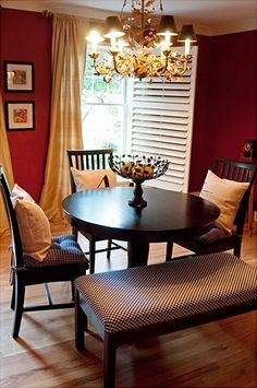 Dining Room Red + Dining Design, Pictures, Remodel, Decor and Ideas - page 13