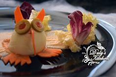 Duly's Kitchen: Búhos Asesinos -Huevos Rellenos- Halloween