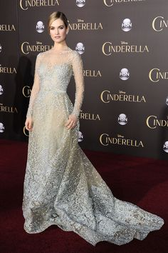 Lil James In Elie Saab Couture at the LA premiere of Cinderella