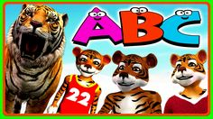 Tiger Cartoons ABC Songs for Children Nursery Rhymes | Alphabets Rhymes ...