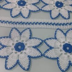 Crochet Lace Edging, Easy Crochet, Crochet Bracelet, Crochet Earrings, Knitting Patterns, Crochet Patterns, Craft Images, Crochet Table Runner, Viking Tattoo Design