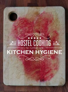 Hostel Kitchen Tips – Tip #1 – Kitchen Hygiene. -- No dishwasher here! Can you keep yourself form getting sick because of poorly-washed dishes in your hostel? We've got your hostel kitchen hygiene etiquette. #traveltips #cookingtips http://wetravelandblog.com/2014/tips/best-travel-tips/hostel-kitchen-hygiene/