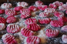 Beet Gnocchi with Rosemary
