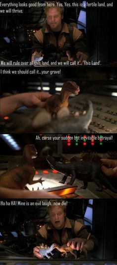 """Curse your sudden but inevitable betrayal!"" classic"
