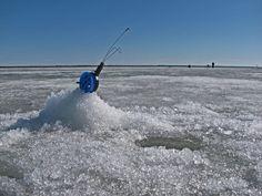 Icefishing Hailuoto Finland