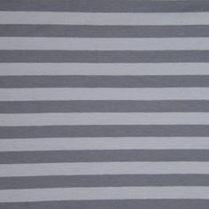 Stripes!  Dark Grey & Light Grey: Jersey Knit