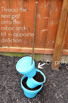 Love this idea! Would be fun way to grow herbs and strawberries!