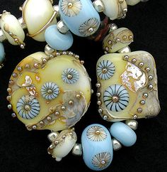 DSG Beads Handmade Organic Lampwork Glass-Great Spirit (Made To Order). $135.00, via Etsy.