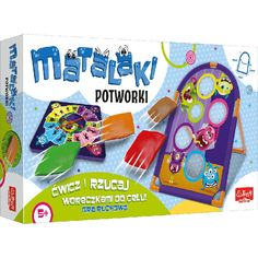 Matalaki - Potworki, gra ruchowa Trefl Active Fisher Price, Hot Wheels, Lego, Barbie, Products, Pantomime, Legos, Barbie Dolls, Beauty Products