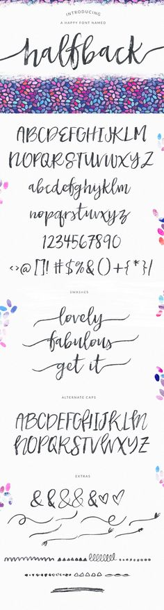 Tattoo Fonts For Girls Cursive Writing Lettering Ideas Lettering Brush, Hand Lettering Fonts, Brush Script, Creative Lettering, Typography Fonts, Lettering Styles, Lettering Tattoo, Monogram Fonts, Monogram Letters