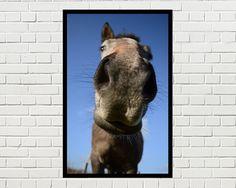 Paard portret afdrukbare kunst paard paard print door Brutesprookjes