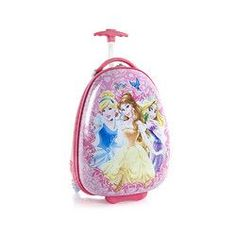 Heys Disney Princess Rolling Luggage Suitcase [Birdies]