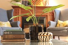 Peek Home Styling - Buckingham Drive - Living Room vignette
