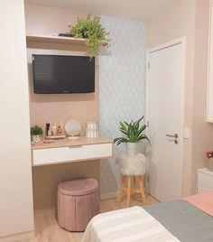 Moving on to talk a little about this little space A problem that most . Industrial Design Furniture, Furniture Design, Home Decor Bedroom, Diy Home Decor, Interior Decorating, Interior Design, Apartment Interior, Dream Rooms, My Room