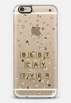 $10 off your first order @casetify using code: ZN4AQG #casetify #case #iphonecase #bestdayever #lyrics #confetti #diamonte #scrabble #words #saying #phonecover #discount #offer #discountcode