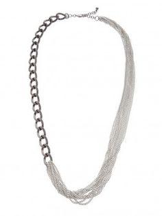 Suit Up Link Necklace