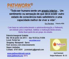 Pathwork - Palestra Introdutória - Portal SER - Saúde, Energia & Resgate