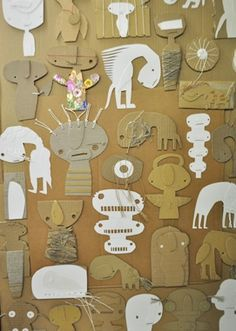 Steen Drabik Cardboard monsters