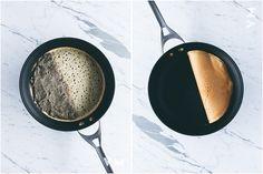 Making Vegan Taiwanese Sesame Peanut Pancakes