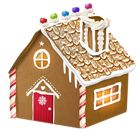 Gingerbread House PNG Clipart Image