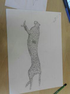 Dit heb ik in de een na laatste les gedaan de cheetah is klaar en ik ben nu bezig met de sniper rifle (zie links boven).