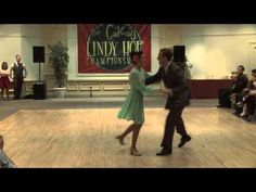 GLHC - Dax Hock and Sarah Breck with a Swing Dance Social Demo at The Galway Lindy Hop Championships