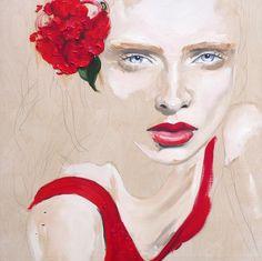Crystal & Crimson l Judith Geher
