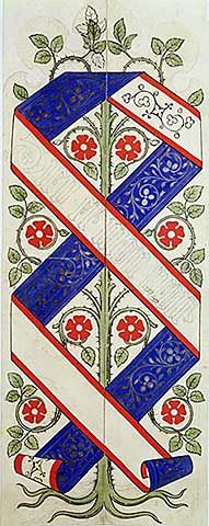 Augustus Welby Northmore Pugin - Wallpaper design for the House of Lords' Library - Fine Arts Reproduction