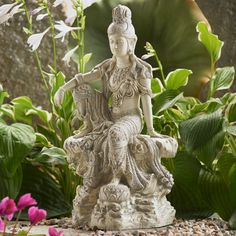 Check out the deal on Moonlight Royal Ease Kuan Yin Statue at DharmaCrafts