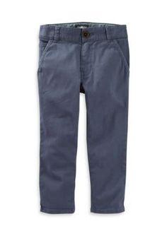 OshKosh Bgosh Blue 5-Pocket Stretch Twill Toddler Boys