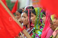 Garment workers protest for compensation in Dhaka. October 5th, 2012.