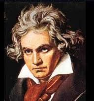 "Ludwig Beethoven - a colosal giant. Listen, below, to his masterpiece ""Ode to Joy"" from the end of his Ninth Symphony. Joy, he felt, was never to be his ... and written when he was deaf! His tragic life gave us everlasting gifts."