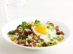 Bacon and Broccoli Rice Bowl #Recipe. #Glutenfree for #celiac #coeliac.