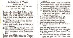 Kópia tejto krásnej modlitby svätého Jána Eudesa bola nájdená v knihe patriacej svätej Margite Márii Alacoque. Túto modlitbu po jej smrti h... Marie, Personalized Items, Beautiful Love