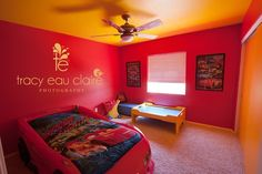 Our 3 Year Oldu0027s Fun Lightning McQueen Bedroom
