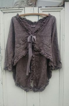 Chocolat Linen Tale Jacket MegbyDesign - Hang Me Up...