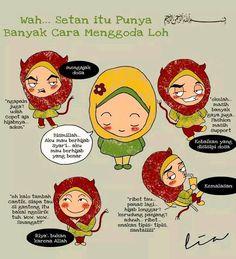 Nah neng Islam Religion, Islam Muslim, Allah Islam, Islamic Qoutes, Muslim Quotes, Islamic Inspirational Quotes, Quran Verses, Quran Quotes, Islamic Cartoon