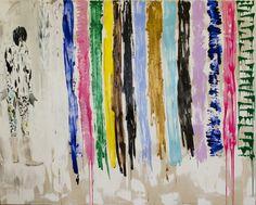 Kevin A. Rausch - Sag mir wo die blumen sind, wo sind sie geblieben – 220 x 270 cm, MT / Leinwand