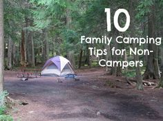 10 Family Camping Tips for Non-Campers