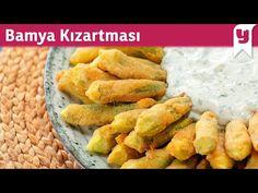 Dışı Çıtır mı Çıtır, İçi Yumuşacık Bamya Kızartması Tarifi - Yemek Tarifleri - YouTube