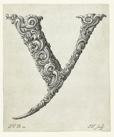 An Alphabet of Organic Type (ca.1650) | The Public Domain Review