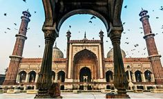 Another monument in Delhi that always draws our attention is Jama Masjid!   Also known as the Masjid-i Jahān-Numā, this is one of the largest mosques in India.  Wish to visit? Call us at 1-877-763-7444 or CLICK to BOOK NOW: https://expedition2india.com/group-tours/Golden-triangle-of-india-at-tour  #India #JamaMasjid #Delhi #mosqueinindia #NewDelhi #OldDelhi #travel #trip #tour #GoldenTriangle #yolo #usa #UCLA