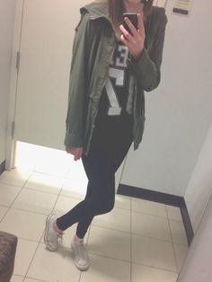 obsessed with army jackets, i own like three and that's probably not good bc who needs three army jackets oh well