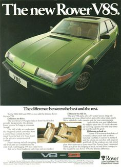 Car Rover, Auto Rover, Premium Cars, Old Ads, All Cars, Motor Car, Volvo, Vintage Cars, Mercedes Benz