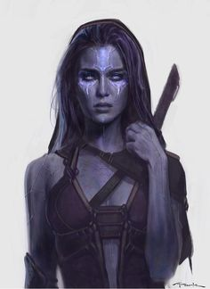 GUARDIANS OF THE GALAXY Concept Art Gamora
