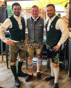Mens Lederhosen, German Men, Oktoberfest Outfit, Tribal Dress, Wedding Costumes, Human Connection, Leather Trousers, Folk Costume, Festival Wear