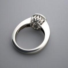 Lotus engagement ring <3 SO gorgeous