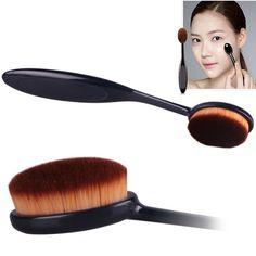 Malloom® Pro cosmétique de maquillage visage de poudre blush brosse fondation courbe brosse: Amazon.fr: Beauté et Parfum